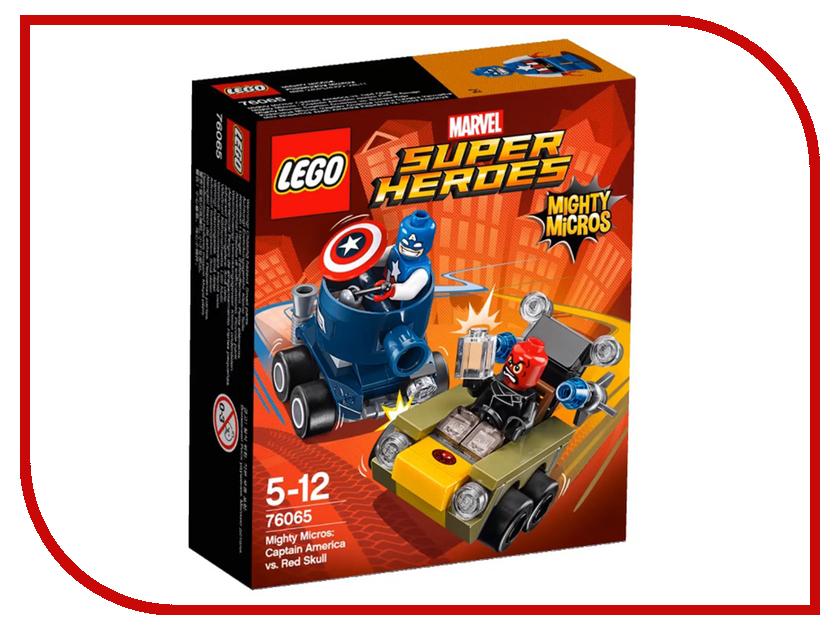 Конструктор Lego Super Heroes Капитан Америка против Красного Черепа 76065 конструктор lego super heroes росомаха против магнето 76073