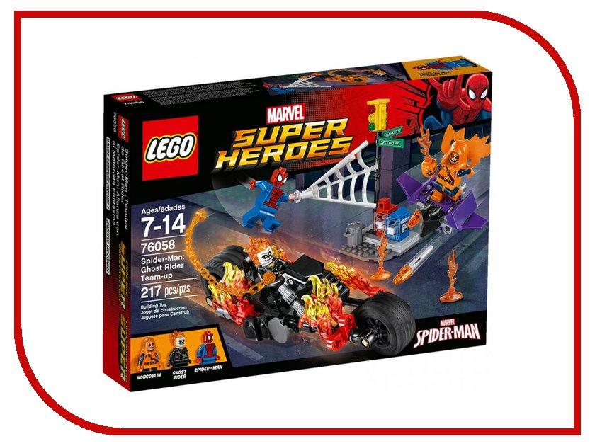 Конструктор Lego Super Heroes Человек-паук союз с Призрачным гонщиком 76058