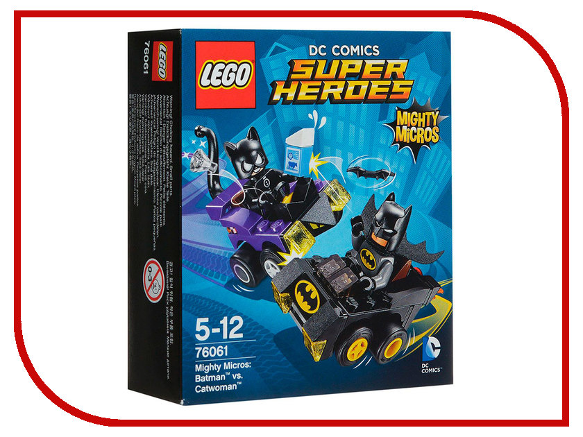 Конструктор Lego Super Heroes Бэтмен против Женщины-кошки 76061 lego batman 2 dc super heroes [pc цифровая версия] цифровая версия