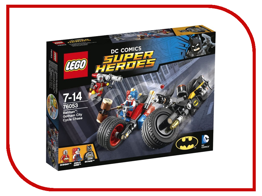 Конструктор Lego Super Heroes Бэтман Погоня на мотоциклах по Готэм-сити 76053 lego 31035