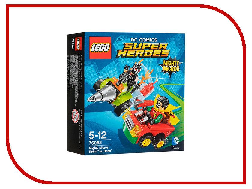 Конструктор Lego Super Heroes Робин против Бэйна 76062 конструктор lego super heroes росомаха против магнето 76073
