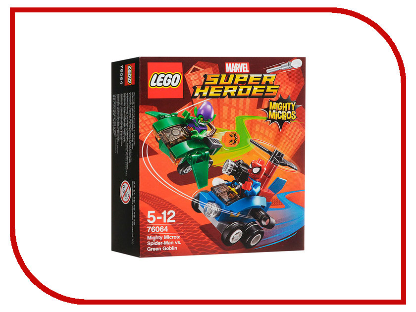 Конструктор Lego Super Heroes Человек-паук против Зелёного Гоблина 76064