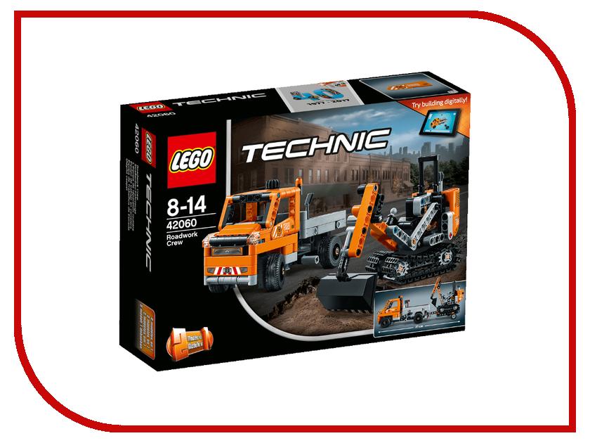 Конструктор Lego Technic Дорожная техника 42060 дорожная карта шоураннера
