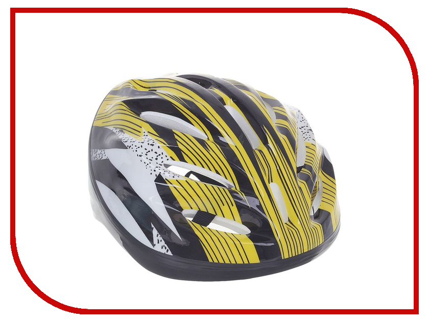 Шлем GRAFFITI OT-11 L Yellow-Black 1348900