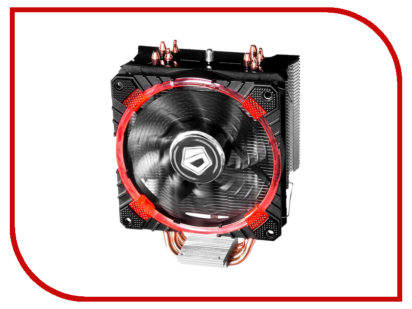 Кулер ID-Cooling SE-214C LED Red (Intel LGA2011/1366/1151/1150/1155/1156/AMD FM2+/FM2/FM1/AM4/AM3+/AM3/AM2+/AM2)