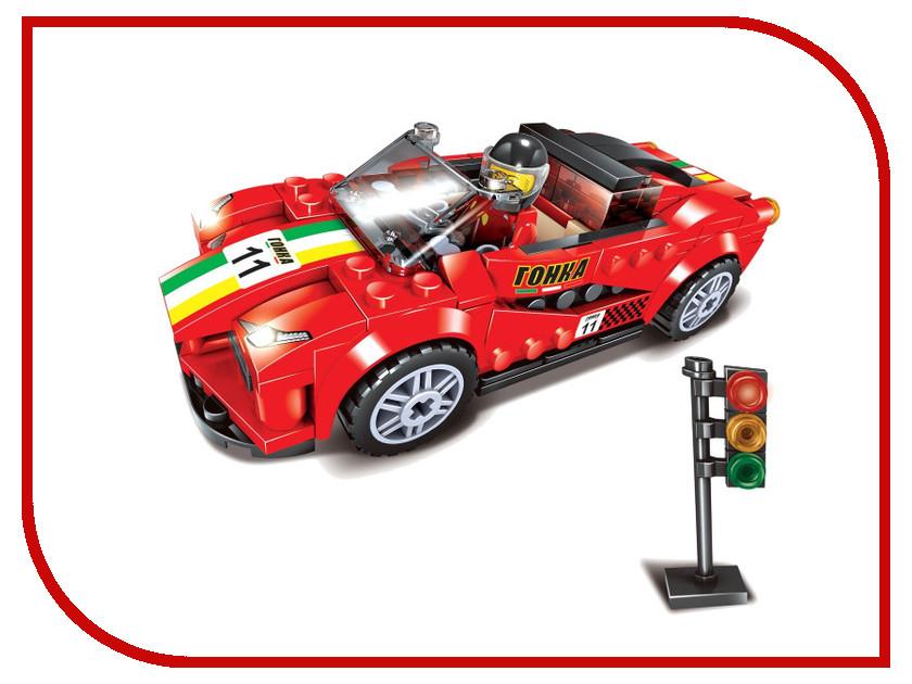 Конструктор UNICON Спорткар 170 деталей 1448673 спорткар 226327