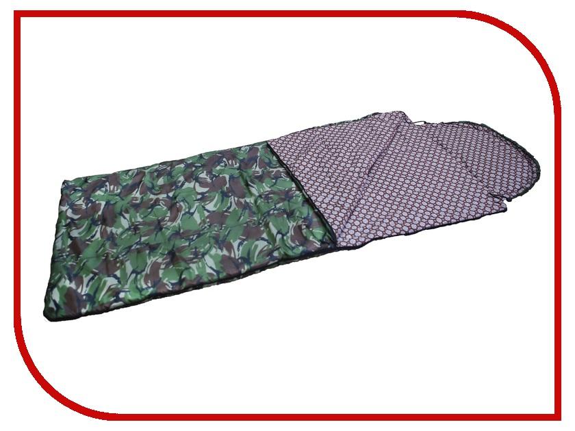 Cпальный мешок Huntsman Аляска -15C Camouflage 1718334