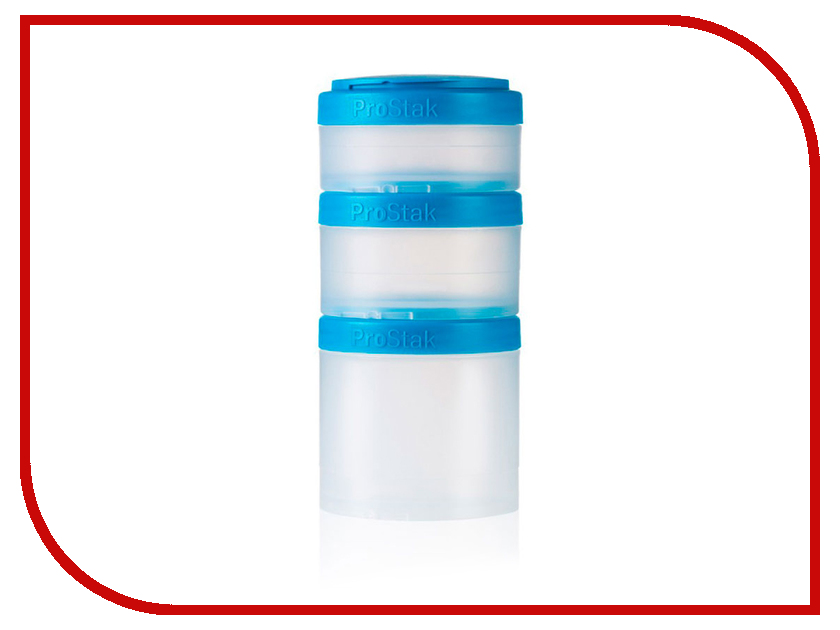 Набор контейнеров BlenderBottle ProStak Expansion Pak Cyan BB-PREX-CCYA