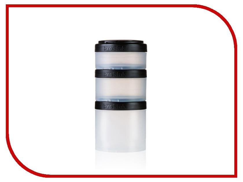 Набор контейнеров BlenderBottle ProStak Expansion Pak Black BB-PREX-CBLK набор контейнеров blenderbottle gostak 150ml black bb g150 blck