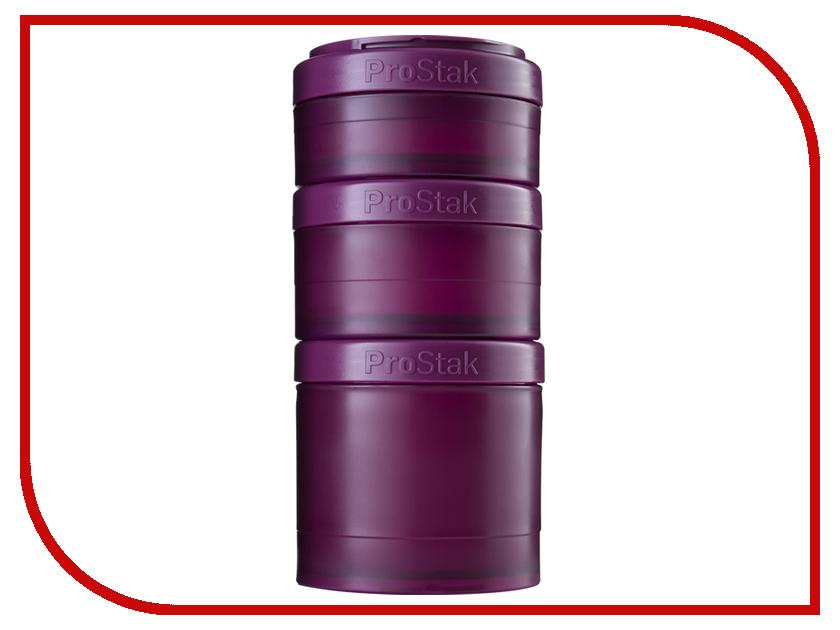 Набор контейнеров BlenderBottle ProStak Expansion Pak Full Color Plum BB-PREX-FPLU шейкер blenderbottle pro45 full color 1330ml grey crimson bb pr45 fcgp
