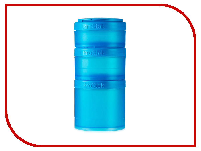 Набор контейнеров BlenderBottle ProStak Expansion Pak Full Color Cyan BB-PREX-FCYA шейкер спортивный blenderbottle prostak full color с контейнером цвет голубой 650 мл