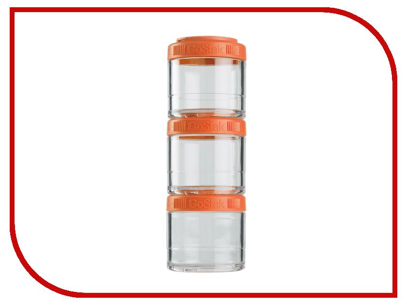 Набор контейнеров BlenderBottle GoStak 100ml Orange BB-G100-ORAN bb gs40 oran