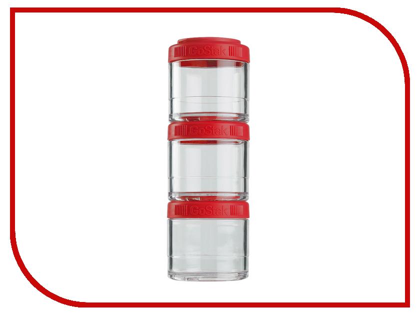 Кухонная принадлежность BlenderBottle GoStak 100ml Red BB-G100-REDD