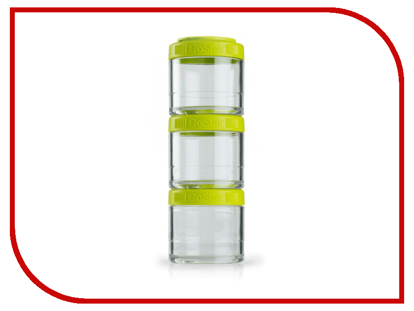 Кухонная принадлежность BlenderBottle GoStak 100ml Green BB-G100-GREE