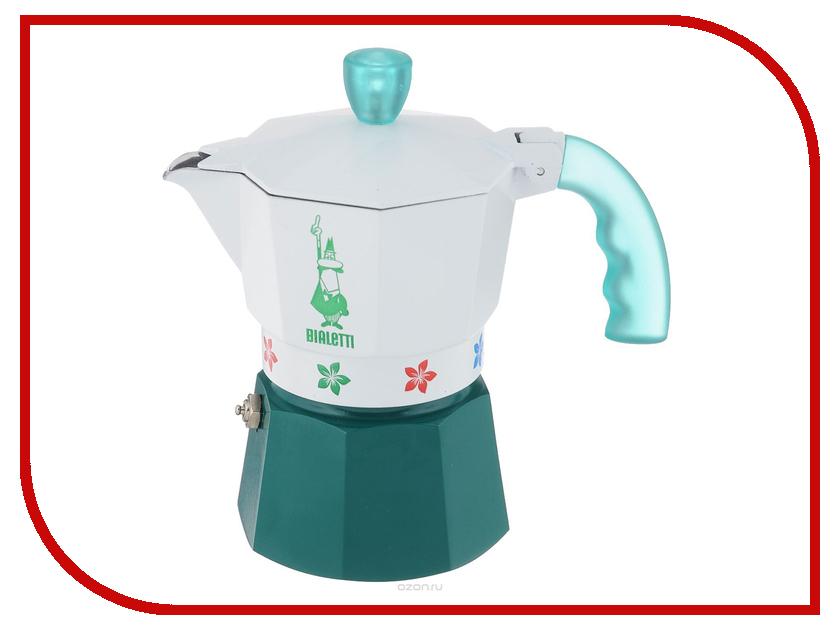 Кофеварка Bialetti Moka Fiori Caldaia Verde на 3 порции 4472