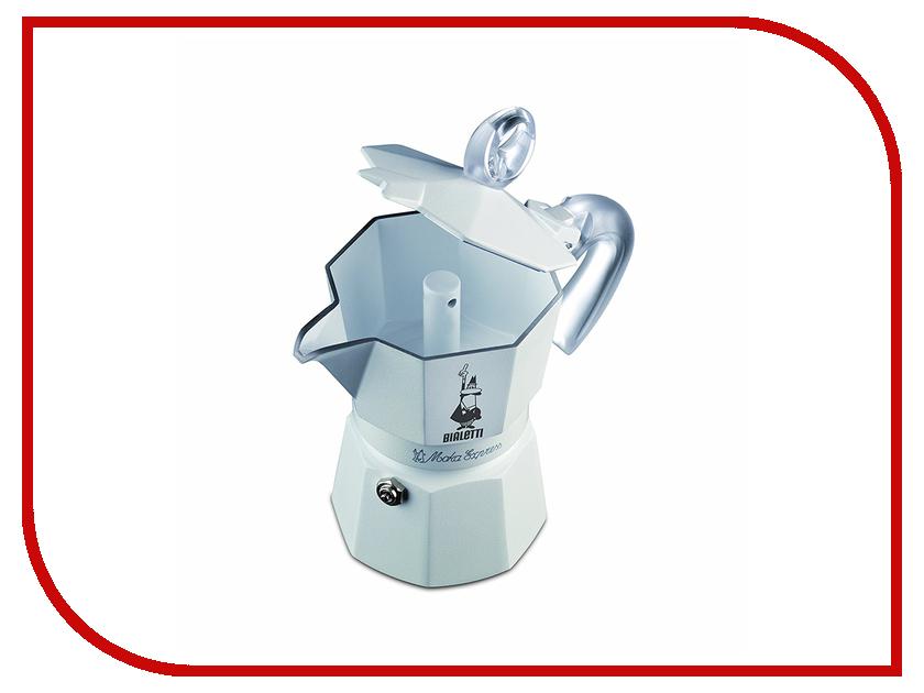 Кофеварка Bialetti Moka Glossy White Ceramica на 3 порции 3052 bialetti moka express на 2 порции 1168