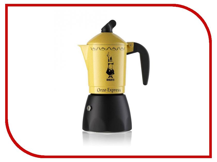 Кофеварка Bialetti Orzo Express Gialla на 4 порции 2324 bialetti moka express на 2 порции 1168