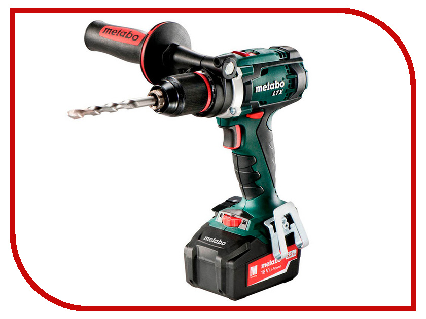 Электроинструмент Metabo BS 18 LTX Impuls 2x5.2Ah 602191650 акк винт metabo se 18 ltx 2500 2х2 0ач
