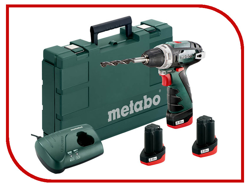 Электроинструмент Metabo PowerMaxx BS Basic 3x2.0Ah 600080960 powermaxx ssd