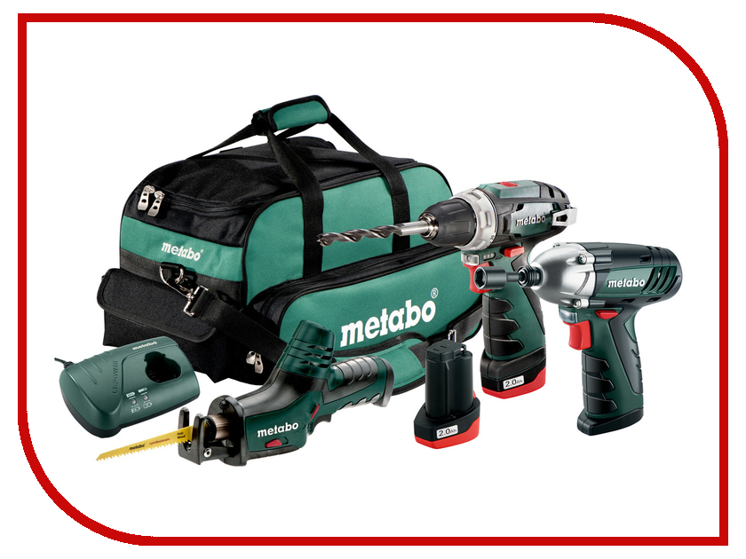 Набор инструмента Metabo Combo Set 3.2 10.8V BS+ASE+SSD 685057000 стоимость