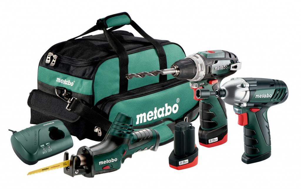 цена на Набор инструмента Metabo ComboSet3.210.8V BS+ASE+SSD 685057000