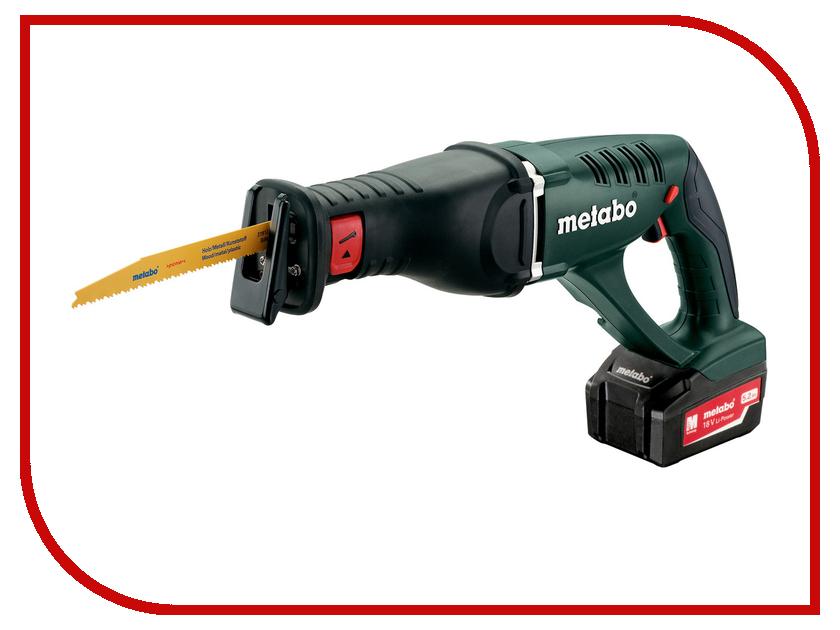 Пила Metabo ASE 18 LTX 602269650 аккумуляторная ножовка metabo ase 18 ltx 602269610
