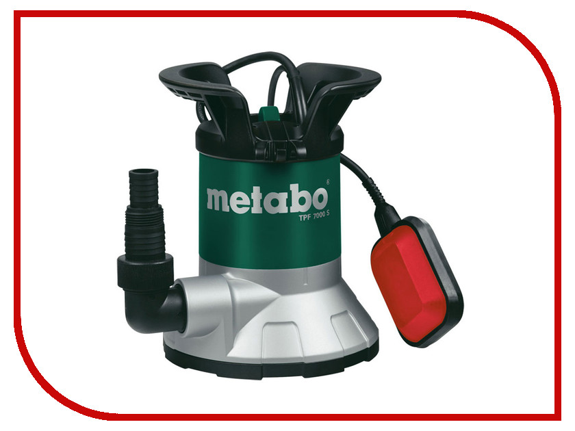 Насос Metabo TPF 7000 S 250800002 metabo tp 8000 s