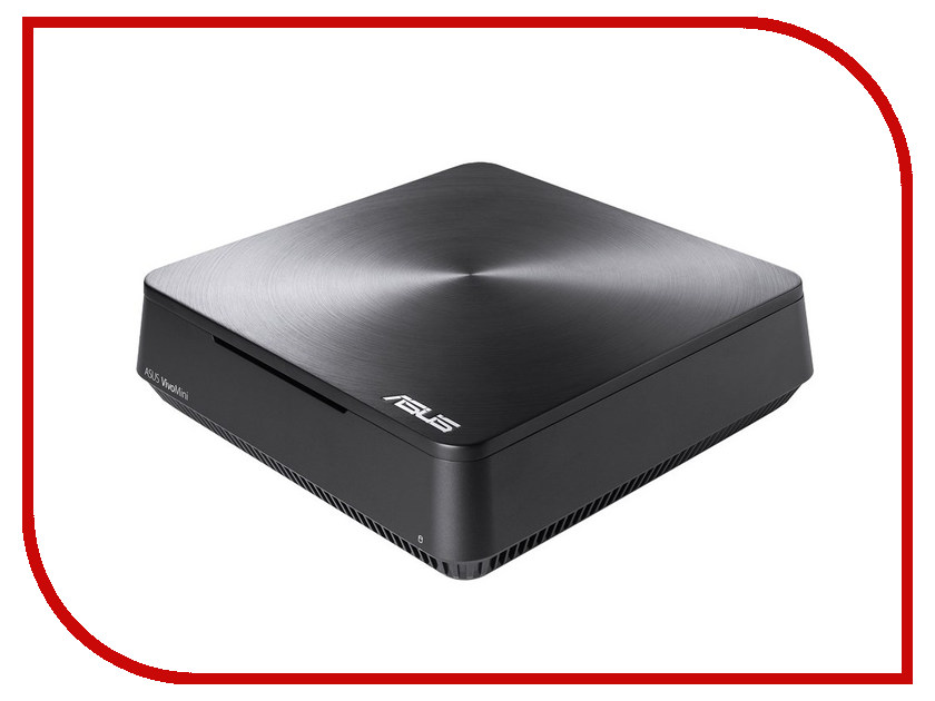 Неттоп ASUS VivoPC VM65N-G021Z 90MS00Q1-M00210 (Intel i3-6100U 2.3 GHz/4096Mb/128Gb/No ODD/nVidia GeForce 930M/Wi-Fi/Bluetooth/Windows 10 64-bit)