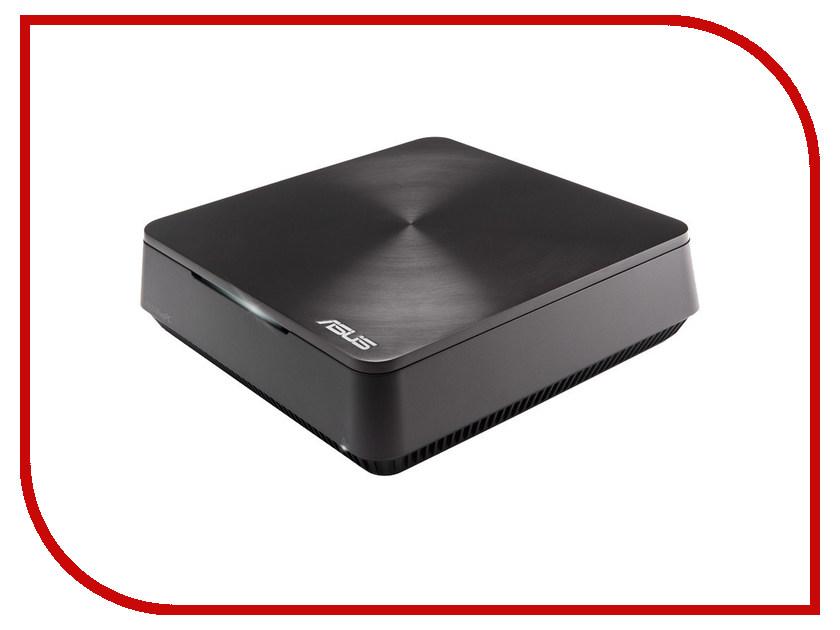Неттоп ASUS VivoPC VM62-G029M 90MS00D1-M00290 (Intel Core i5-4210U 1.7 GHz/4096Mb/500Gb/No ODD/Intel HD Graphics/Wi-Fi/Bluetooth/DOS)