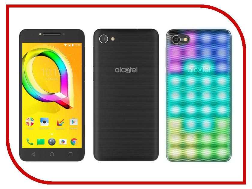 Сотовый телефон Alcatel 5085D A5 LED Metallic Black смартфон alcatel one touch 5085d a5 silver