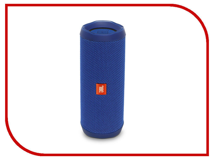 Колонка JBL Flip 4 Blue динамик jbl портативная акустическая система jbl flip 4 цвет squad