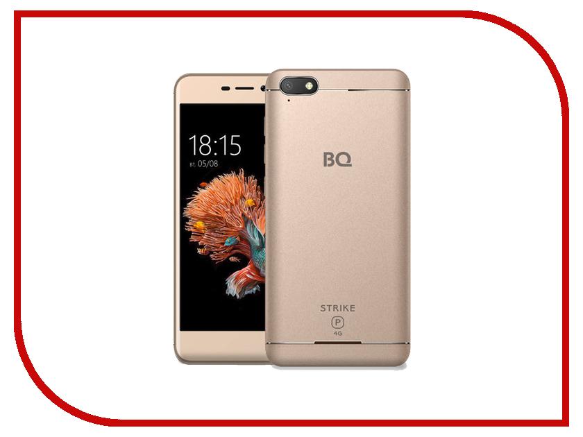 Сотовый телефон BQ 5037 Strike Power 4G Gold смартфон bq 5037 strike power золотой