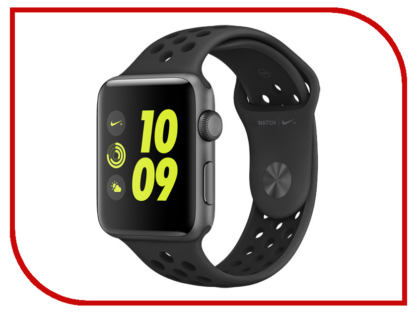 Zakazat.ru: Умные часы APPLE Watch Nike+ 42mm Space Grey Aluminium Case with Anthracite-Black Nike Sport Band MQ182RU/A