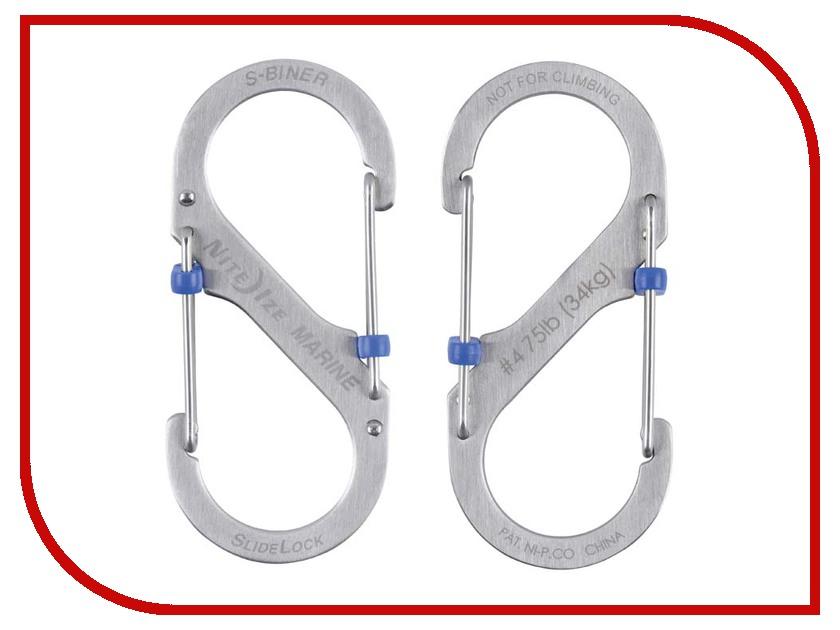 Nite Ize S-Biner Marine SlideLock размер 4 SBML4-11-R6
