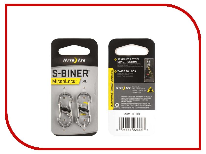 Гаджет Карабин Nite Ize S-Biner MicroLock LSBM-11-2R3 s biner taglock plsbm 01 r3