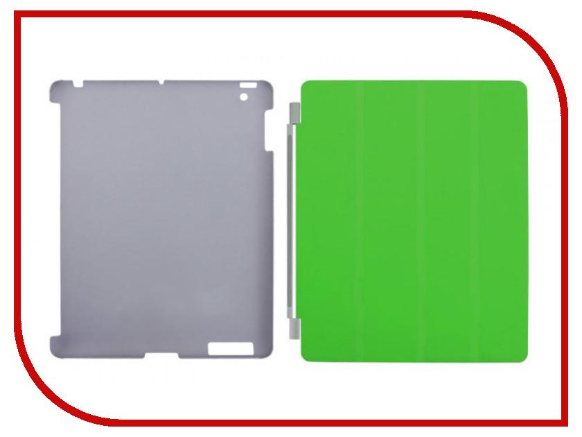 Аксессуар Чехол Clever Total Protection для iPad 2 Green