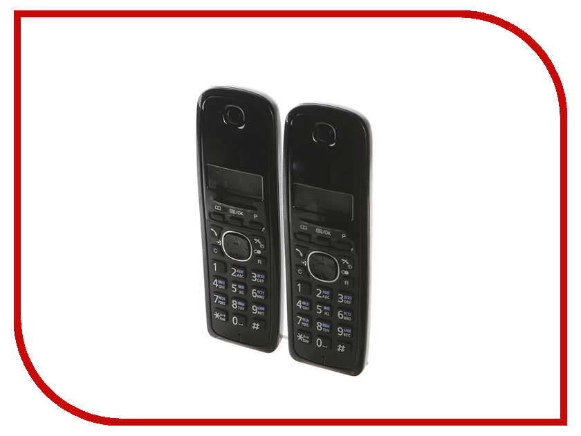 Радиотелефон Panasonic KX-TG1612 радиотелефон panasonic kx tga806 rub