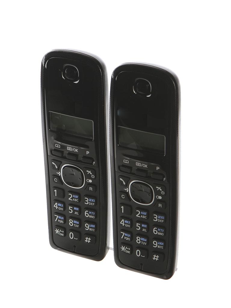 Радиотелефон Panasonic KX-TG1612 panasonic kx tg1611rur dect phone digital cordless telephone wireless phone system home telephone