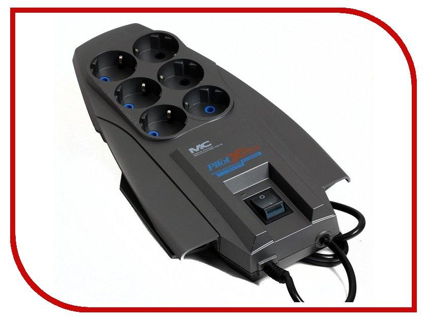 Сетевой фильтр Pilot XPRO 1.8m Dark Grey