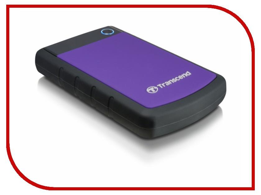 все цены на  Жесткий диск Transcend StoreJet 25H3 1Tb TS1TSJ25H3P  онлайн