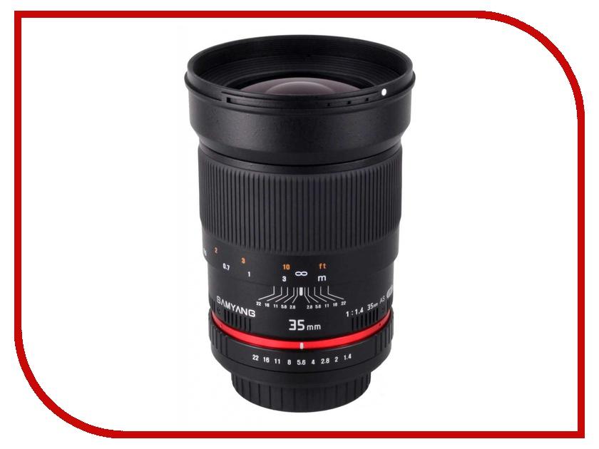 Объектив Samyang Sony / Minolta MF 35 mm F/1.4<br>