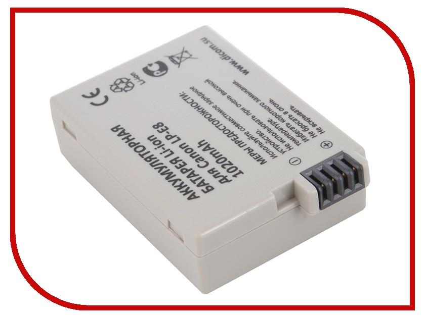 Аккумулятор Flama FLB-LP-E8 / Dicom DC-E8<br>