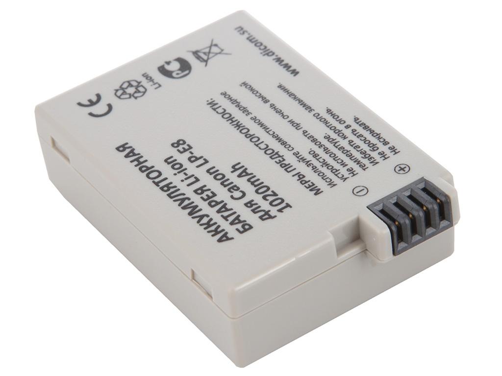 Аккумулятор Flama FLB-LP-E8 / Dicom DC-E8