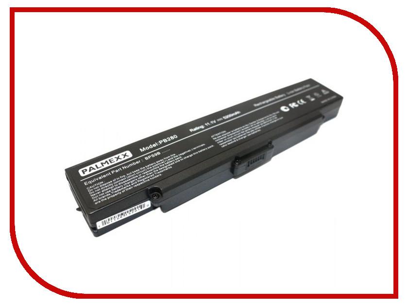 Аккумулятор Sony BPS9B Palmexx 5200 mAh Black PB-280 аксессуар apple macbook 13 3 a1185 palmexx 10 8v 55wh pb 026 white