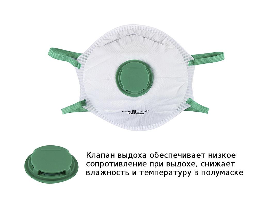 Респиратор Зубр 11163-2