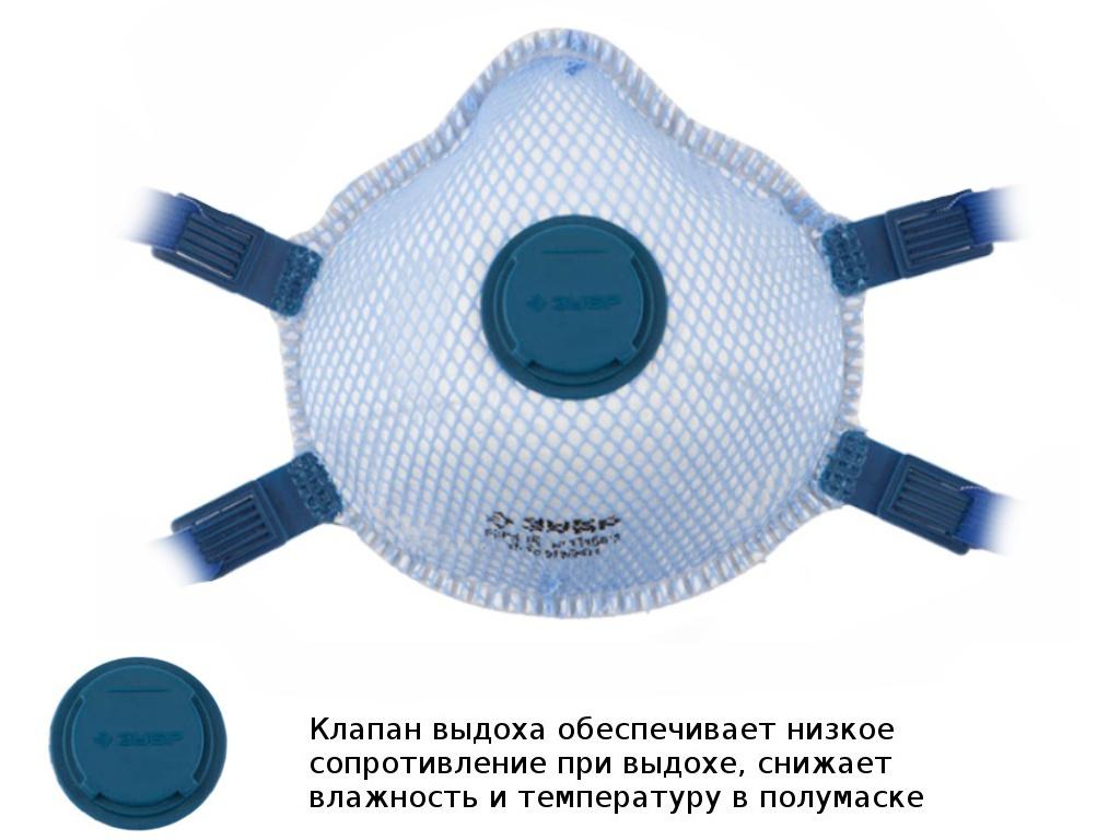 Респиратор Зубр 11160-2