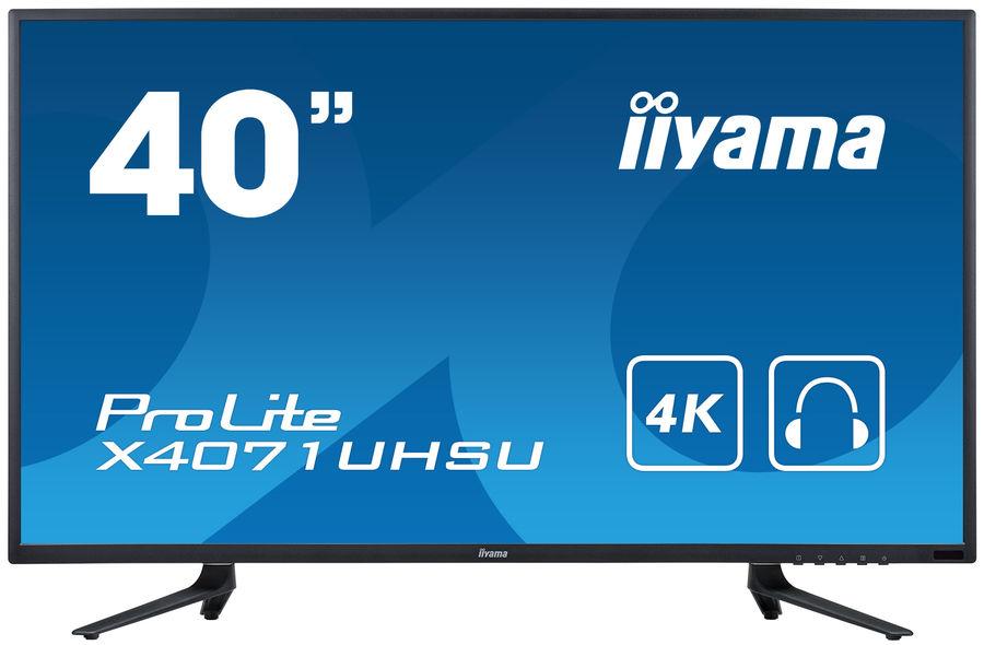 Монитор iiyama ProLite X4071UHSU-B1 цены