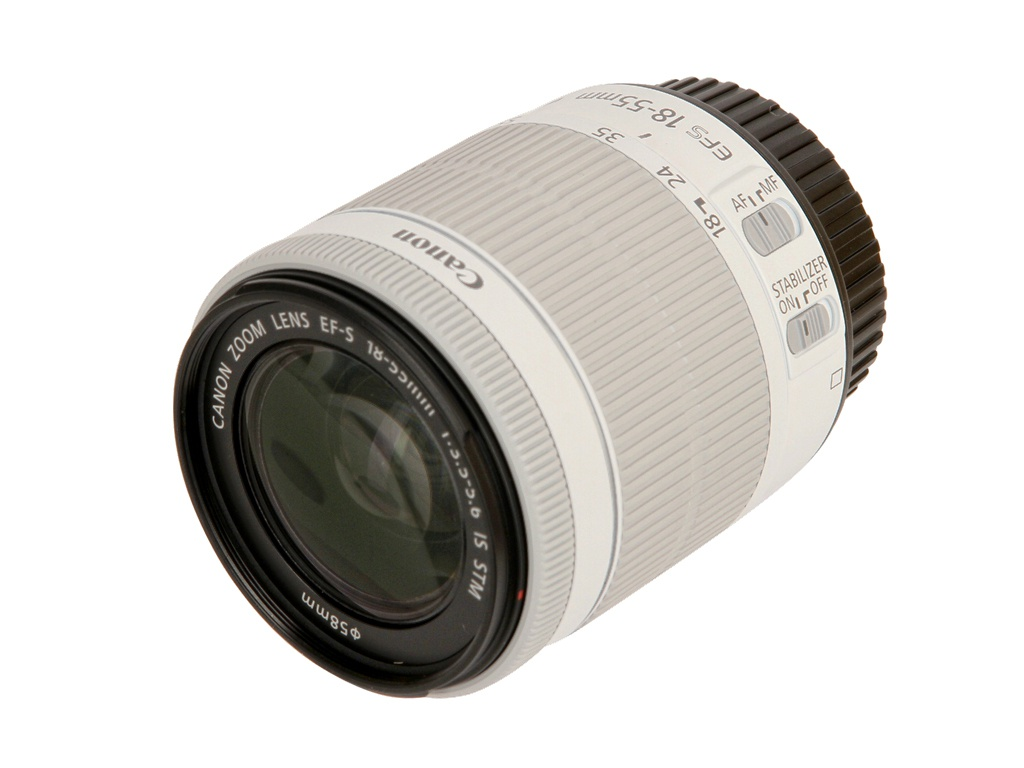 Объектив Canon EF-S 18-55mm f/3.5-5.6 IS STM объектив sony dt 18 55mm f 3 5 5 6 sal 1855