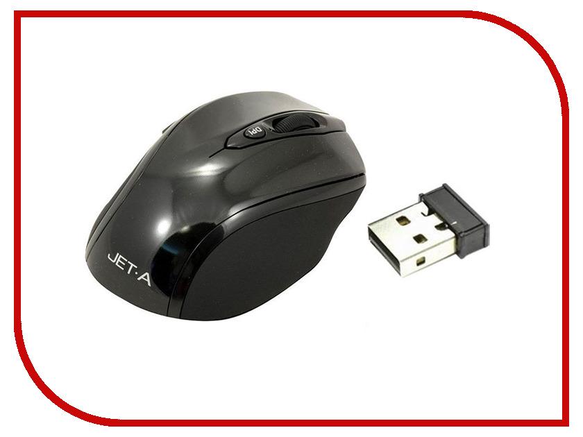 Мышь Jet.A Black Style OM-U24G Black<br>