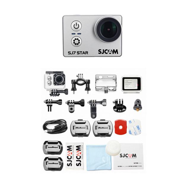 Экшн-камера SJCAM SJ7 Star Silver экшн камера sjcam sj8 pro full box белый